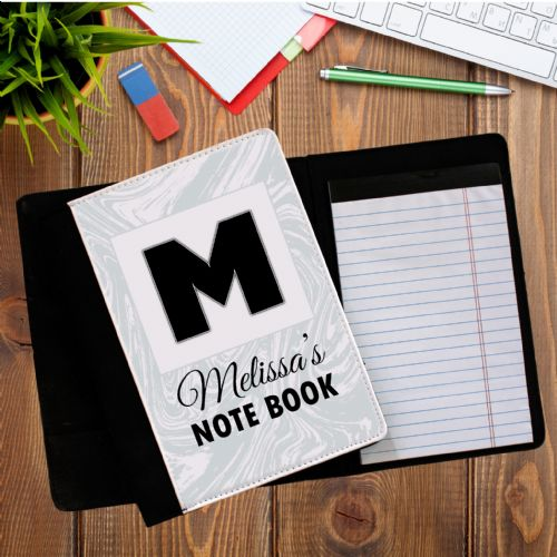 Personalised ANY NAME Notepad Notebook with paper N3